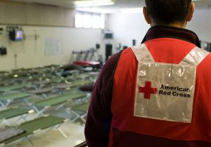 Ted Rollins and RedCross